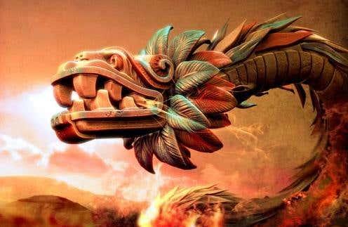 dragon aztec