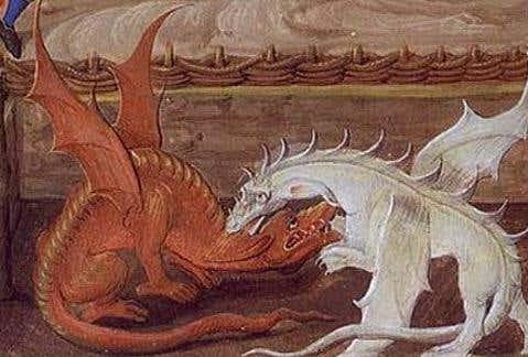 dragon england