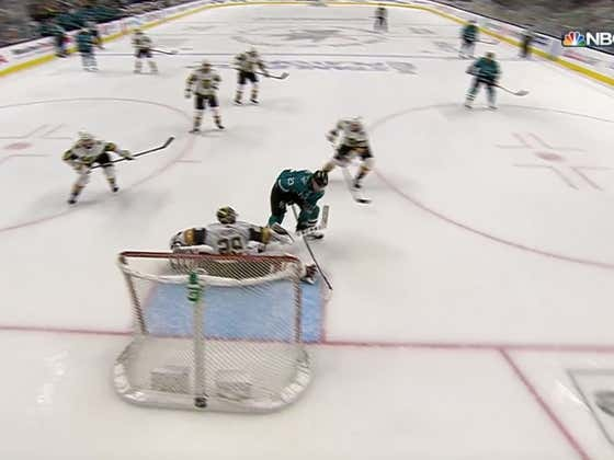 Barclay Goodrow And A Third Period Feeding Frenzy Send The Golden Knights Home For The Summer