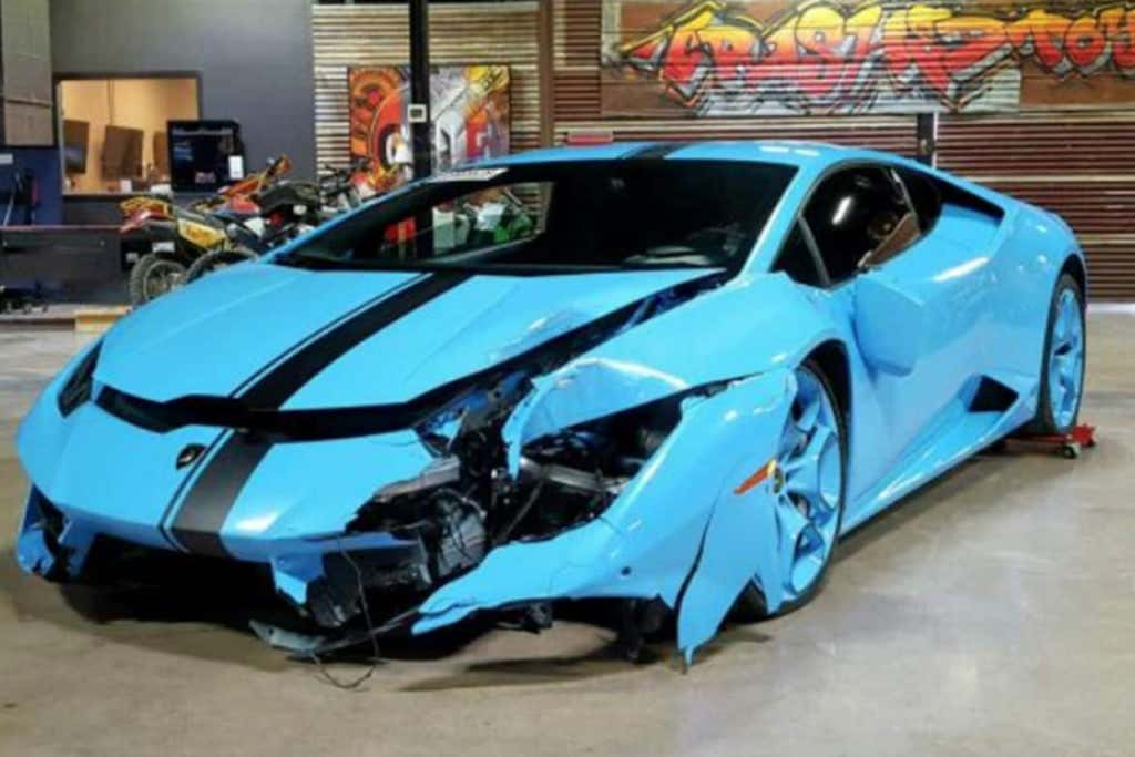 You Can Buy Terrance Williams Wrecked Lambo For The Fair Price Of