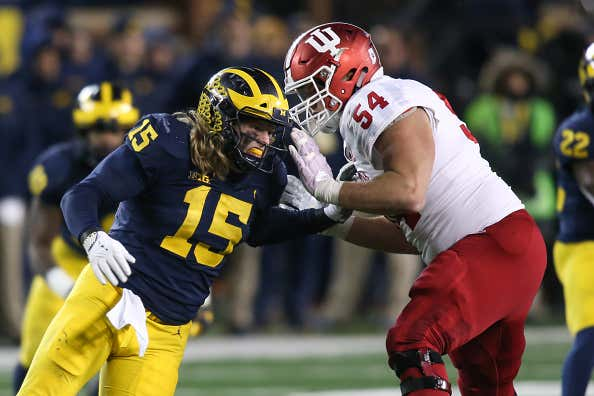COLLEGE FOOTBALL: NOV 17 Indiana at Michigan