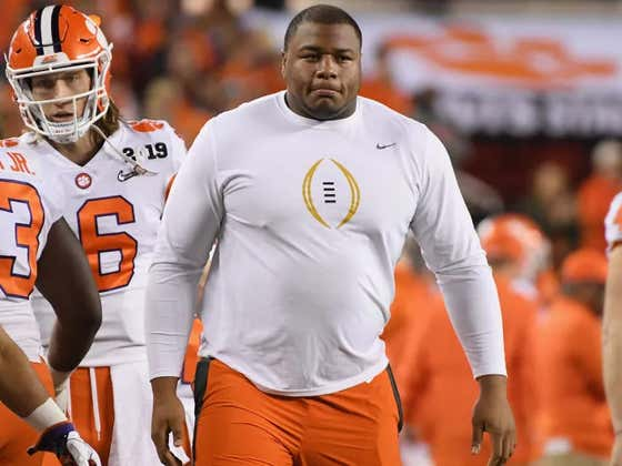 Clemson Avoids Potentially Massive Lawsuit Because The Giants Took Dexter Lawrence At Pick 17