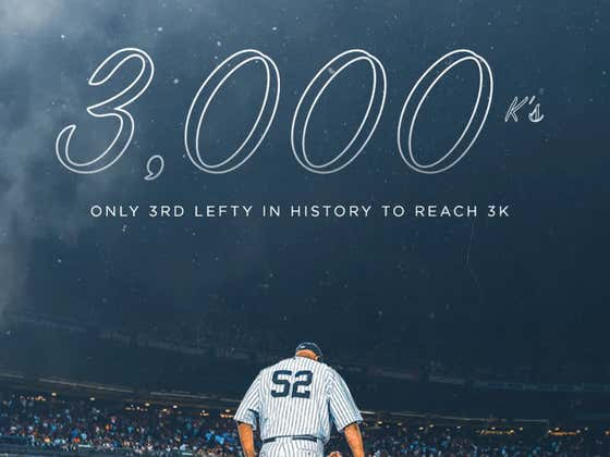 From Death's Doorstep To Immortality: CC Sabathia Joins The 3,000 Strikeout Club