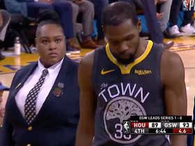 600e5735571 ... This Security Guard Giving Kevin Durant The Death Stare After A Foul Is  Not To Be