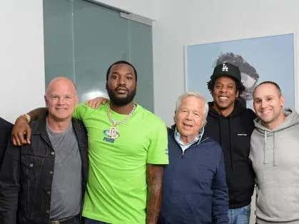 Mr. Kraft Has Me, Jay-Z and Meek Mill. Plus Had Fingers in His Butt Crack and a Huge Win in Court. What Else Does Any Man Need?