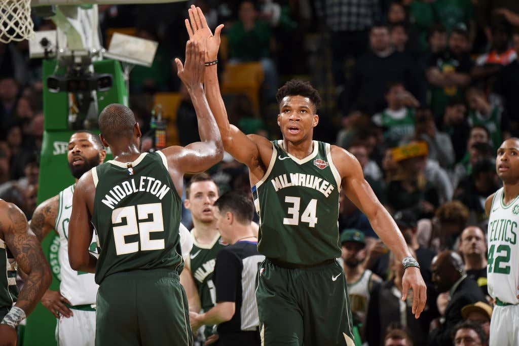 3a5589a3ef3e Last Night In The NBA  Giannis Made The Celtics His Bitch And The ...