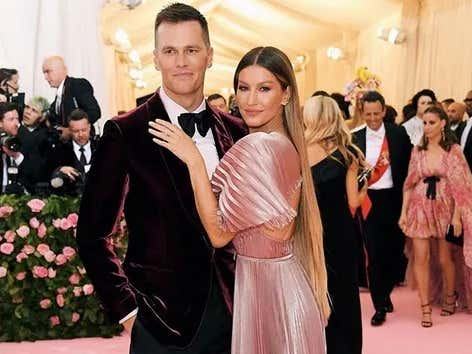Brady and Gisele Shared the Throne at the Met Gala