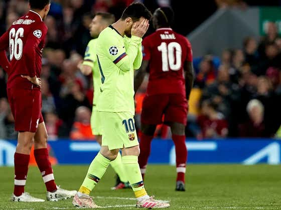 Barcelona Left Crying Messi In Liverpool As He Took A Drug Test In The Lockerroom