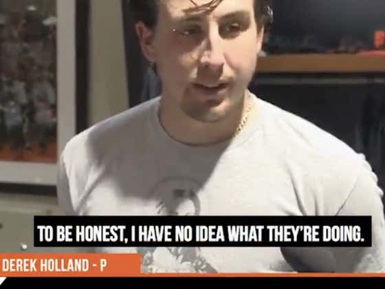 Derek Holland Just COMPLETELY Threw The SF Giants Front Office Under The Bus