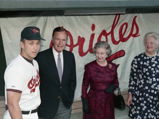 On This Date in Sports May 15, 1991: The Queen and the Orioles