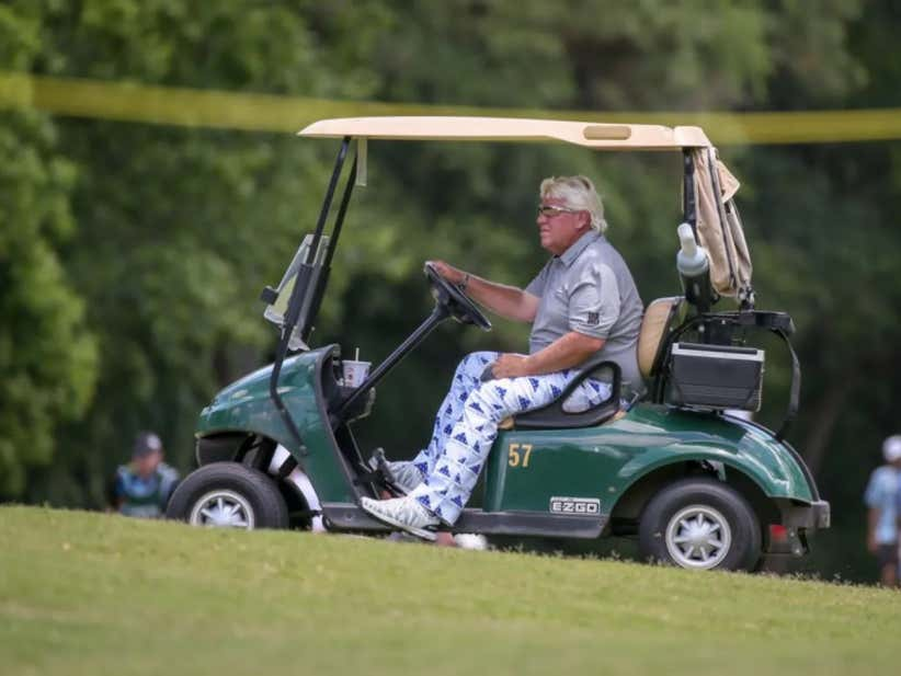 80200b82ea147 John Daly Responds To Tiger Chirping Him About Using A Cart At The PGA  Championship   You Don t Get It  - Barstool Sports