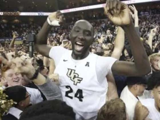 Tacko Fall Broke Every Record At The NBA Combine Because He's Hilariously Gigantic