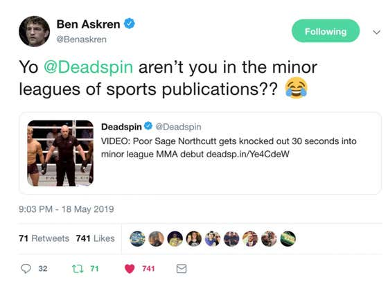 Hey Deadspin - Boom Roasted