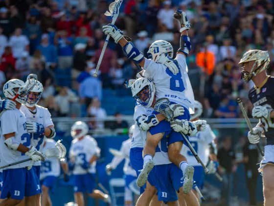 I Still Can't Believe That Some Of You Idiots Don't Watch College Lacrosse