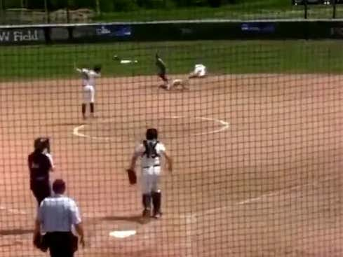 D3 Softball Team Pulls Off Marvelous Hidden Ball Trick To Qualify For The College World Series