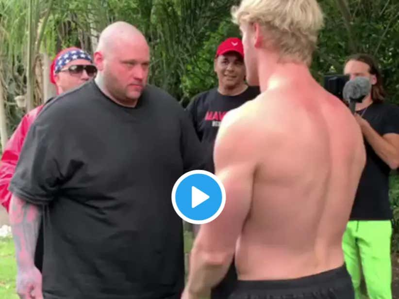 Logan Paul Just Knocked A Giant Dude The Fuck Out With An Open Hand