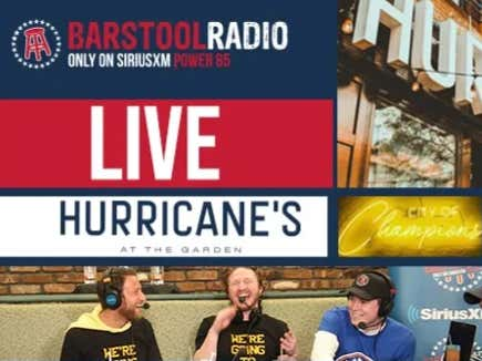 Barstool Radio Will Be Live From Boston and St. Louis for the Stanley Cup