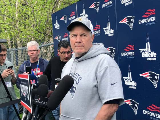 Jerry Does Patriots OTAs. The Quest for the 7th Ring Has Officially Begun