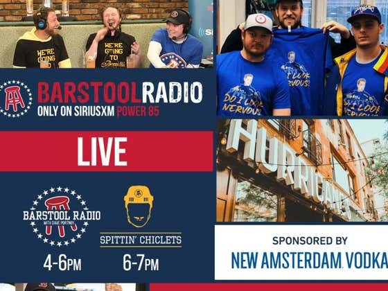 Special Memorial Day Edition Of Barstool Radio Live From Hurricanes At The Garden At 4pm