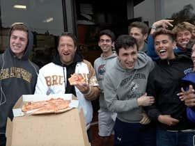 Pizza Reviews Videos Barstool Sports