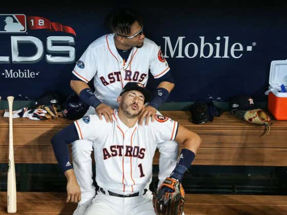 """In What May Be The Biggest Lie Ever Told, Carlos Correa Broke a Rib During a """"Massage At His Home"""""""
