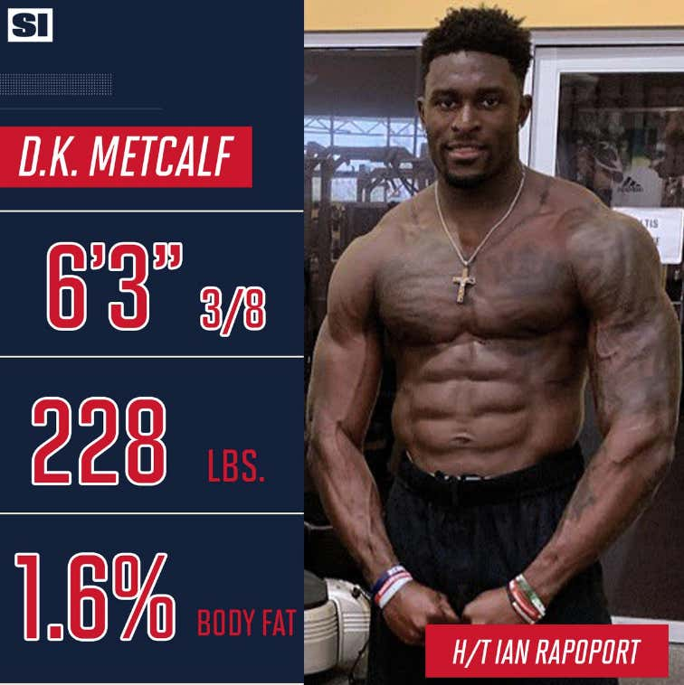 The Internet Is Hilariously Roasting DK Metcalf's Attempt At ...