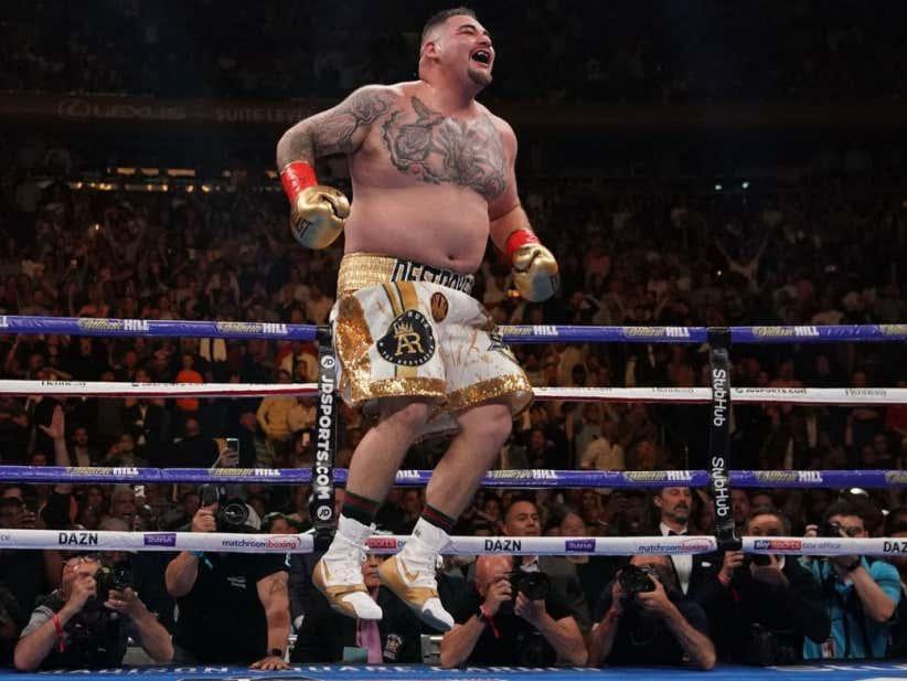 Andy Ruiz Jr Saved Boxing - Barstool Sports