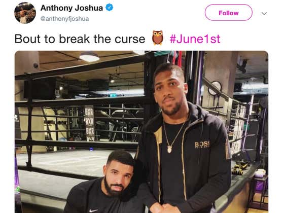 Imagine Thinking You're Bigger Than The Drake Curse. The Fucking Drake Curse.