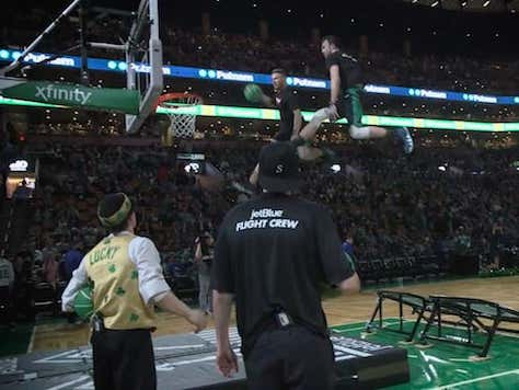 """""""Half: The Story"""" Episode 3, Lucky and the Boston Celtics Dunk Team"""