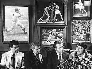 On This Date in Sports June 6, 1969: Bachelor's III Namath 0