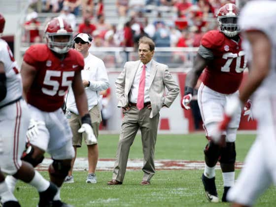 Nick Saban Laughs At Odds On His Retirement