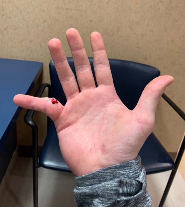 Boys getting finger fucked