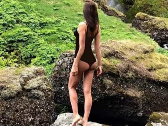 It Appears Irina Shayk Is Getting Over Her Breakup With Bradley Cooper
