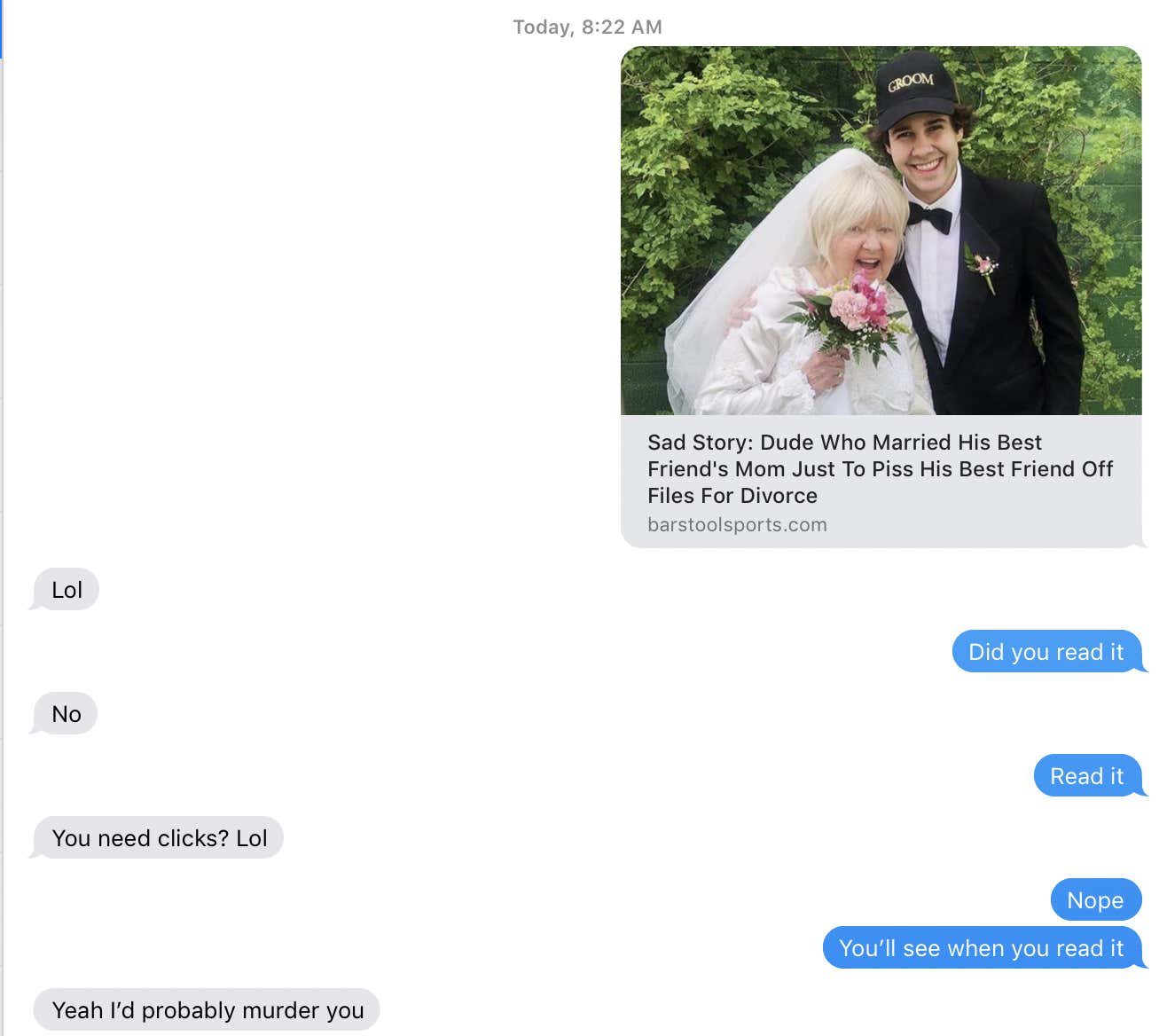 Sad Story: Dude Who Married His Best Friend's Mom Just To