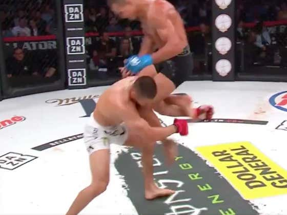 ANNNND THE KNOCKOUTS HAVE STARTED AT BELLATOR 222