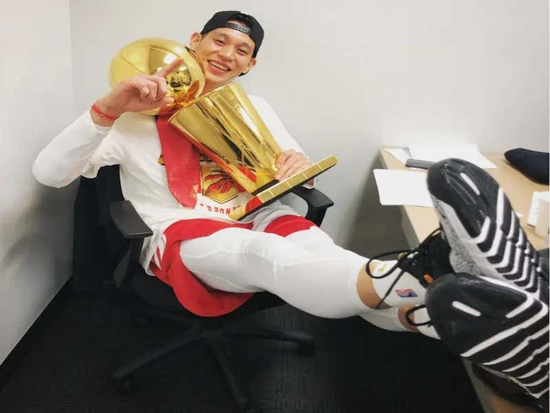 Get The Ticker Tape Ready At The Canyon Of Heroes Because Jeremy Lin Is An NBA Champion!