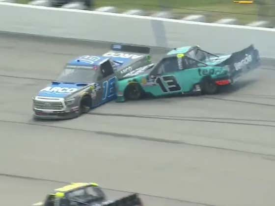 Does NASCAR Need Enforcers? It Would Appear So After This Truck Series Race Turned Into A Round Of Bumper Cars