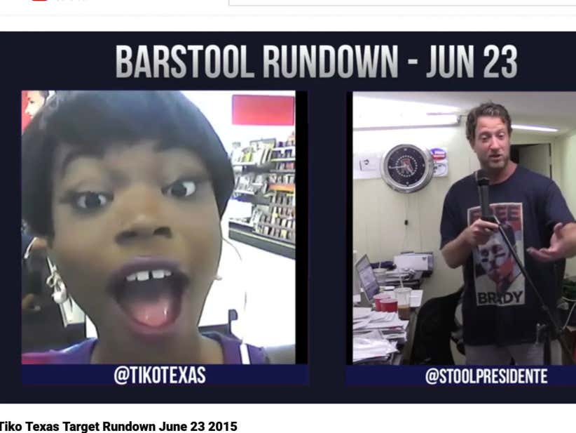 The Backstory Of Tiko Texas And How She Became A Barstool Sports Legend