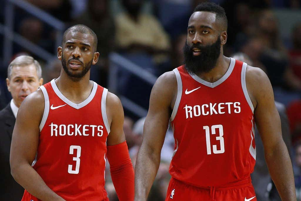 Houston Rockets v New Orleans Pelicans