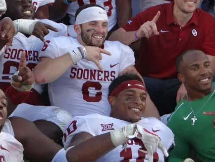"Baker Mayfield Says Sam Ehlinger's Opinion On Winning ""Doesn't Matter"" While Reminding Us Texas Is NOT Back"
