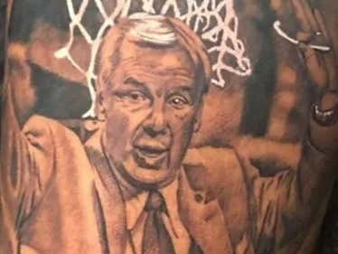 How Do We Feel About A Former UNC Player Getting This Tattoo Of Roy Williams?