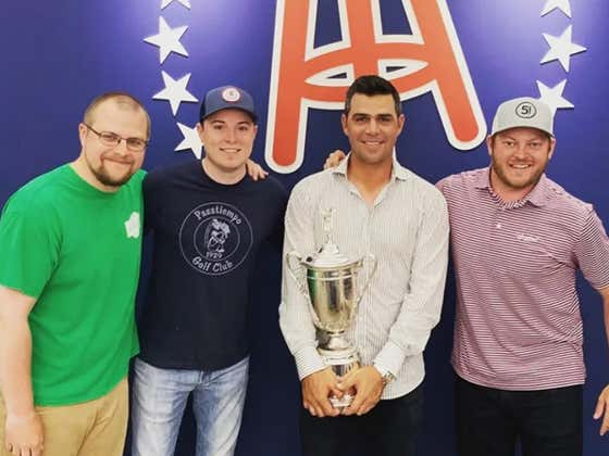 Gary Woodland Joins Fore Play Just Days After Winning The U.S. Open