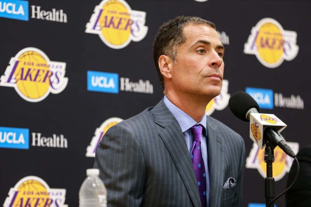 NBA: MAY 20 Lakers Introduce Head Coach Frank Vogel