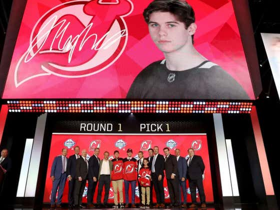 New Jersey Devils Draft American Sweetheart Jack Hughes #1 Overall In The 2019 NHL Draft