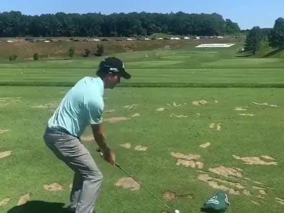 Kisner Is A Wizard With A 5-iron
