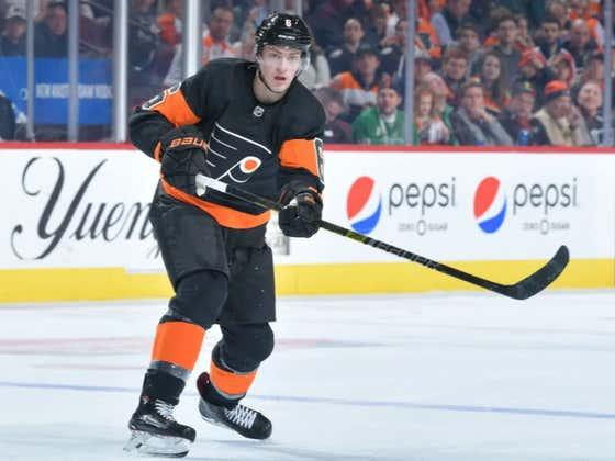 Hide Yo Kids, Hide Yo RFA's. The Flyers Sign Travis Sanheim To A 2-Year Bridge Deal