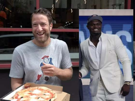 Zion Celebrated Being The No. 1 Pick By Throwing Himself A Big Ol' Mardi Gras Themed Pizza Party