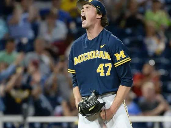 It's Hilarious Watching Sports Fans Bend Over Backwards Trying to Pretend They Don't Care About the College World Series Just Because Michigan Is In It