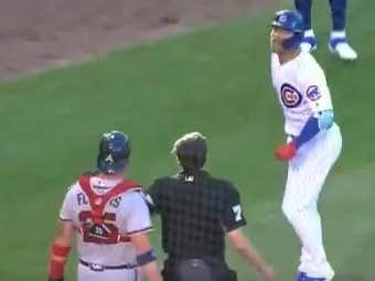 Cubs And Braves Are Getting HOT. Benches Clear And Contreras Looks To Be Talking MAD Shit