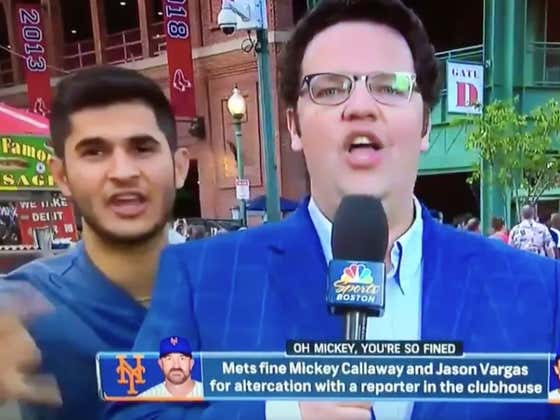 "Love A Good ""Fuck The Yankees"" On Live Television"